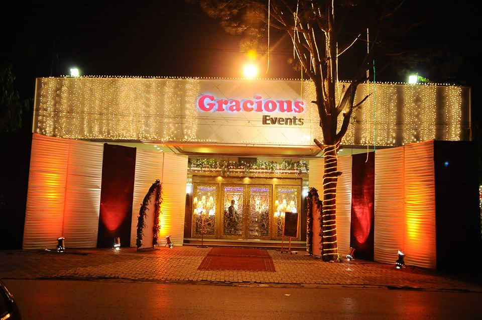 Gracious Events Banquet Hall - Booked.pk