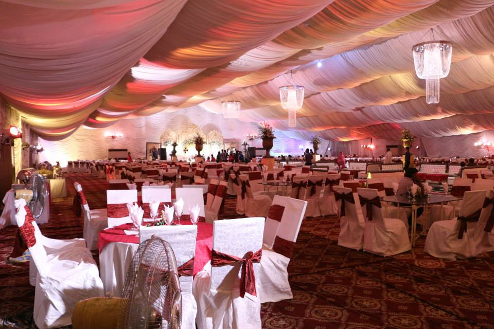 Golden Marquee-Mayo Gardens - Booked.pk