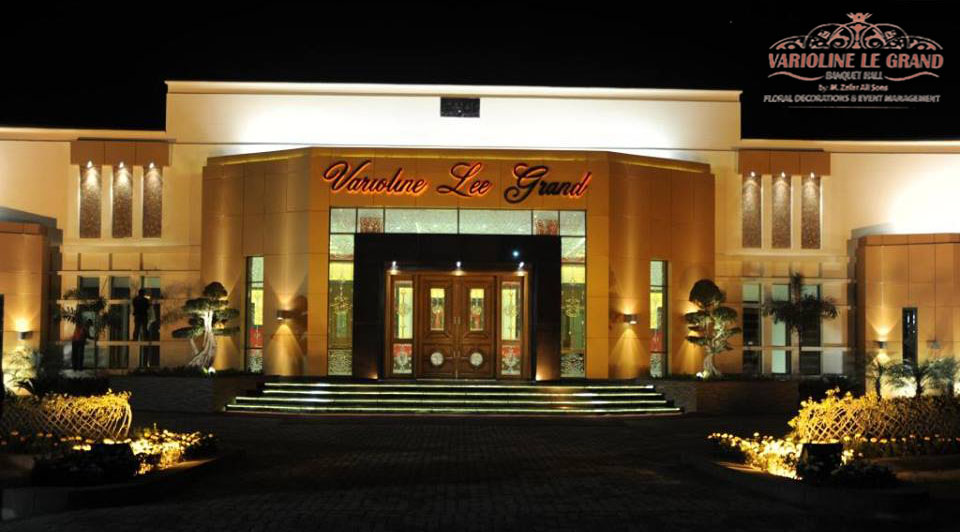 Varioline Le Grand Banquet Hall no 9- Garrison Golf & Country Club - Booked.pk