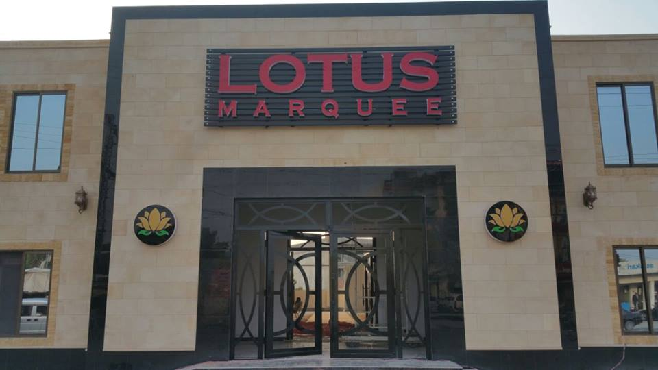 Lotus Marquee - Booked.pk