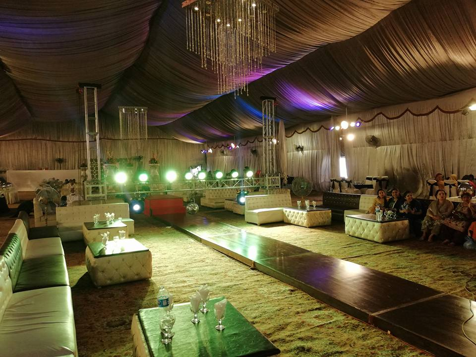Askari Marriage Marquee - Booked.pk